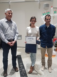 Yuval Abulafia won Prize for excellence in admission to an advanced degree in physics