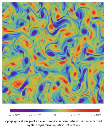 Fluid dynamical equations of motion